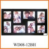 8 - черная рамка для фотографий в фонд маркетингового развития (WD08-12BH)