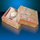 Rectángulo de papel del diseño del reloj elegante de la alta calidad con la almohadilla
