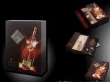Vente en gros de caisse d'emballage de boîte à vin de papier cartonné/de Vsop