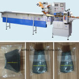 Máquina almohada Tipo de motor neumáticos automática de flujo de envolver