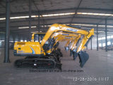 新しく小さいクローラーまたは車輪の掘削機5-15のトン