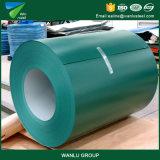 A largura da alta qualidade 750-1250mm Prepainted a bobina de aço galvanizada