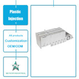 Modelagem por injeção plástica plástica personalizada da tampa do equipamento de escritório eletrônico dos produtos