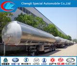 Aleación de aluminio de 3 ejes el depósito de combustible semi remolque, 42000 litros de combustible el depósito de combustible de aleación de aluminio, remolque cisterna semi remolque