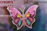 Il Fashion Chinoiserie Embroidery Patch con The Butterfly Pattern