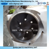 Turbine centrifuge de bâti de pompe de norme ANSI Durco d'acier inoxydable