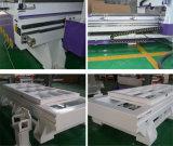Holzbearbeitung CNC-Fräser-Ausschnitt-Gravierfräsmaschine für hölzernen MDF-Plastik