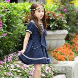 Vestito dal Pinafore delle ragazze dell'uniforme scolastico di stile di Salor