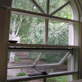 Finestra di alluminio isolata Tempered della tenda di disegno di vetro