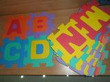 Stuoia di puzzle di EVA con le lettere per i capretti che giocano le maschere personalizzate