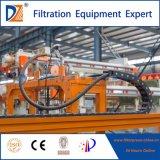 De industriële Machine van de Pers van de Filter met het Automatische Systeem van de Was van de Doek