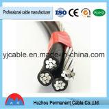 Cable de gota del servicio del ABC del conductor y cuerda aislados XLPE de aluminio del cableado en alta calidad con precio bajo