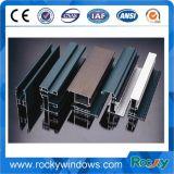 Windows et profils d'aluminium d'extrusions personnalisés par enduit de poudre de portes