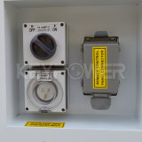 Eingabe-Bank für Generator-Prüfung