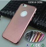 Minces les plus neufs de qualité d'OEM ultra plaquent la caisse de téléphone cellulaire de TPU pour l'iPhone 6/6s plus