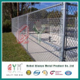 Загородка звена цепи /PVC съемной загородки звена цепи Coated декоративная