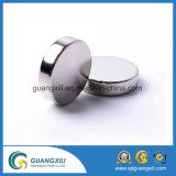 D25 X Magneet van Neodym van de Schijf van de Zeldzame aarde van 5mm de As Gesinterde