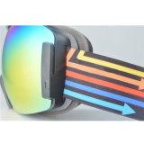 Deportes choque contra la prescripción de lentes PC doble máscara de esquí gafas deportivas