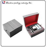 Caixa de armazenamento de couro luxuosa do indicador da embalagem do relógio (Sy0116)