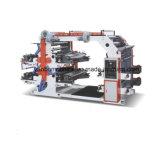 Machine d'impression flexographique à quatre couleurs