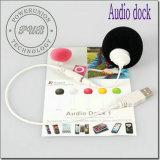 Для iPhone, iPad iPod MP3 и MP4 3,5 мм мини-Audio Dock док-звука динамиков