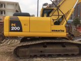 Excavador hidráulico usado muy bueno KOMATSU PC200-8 de Japón de la correa eslabonada de las condiciones de trabajo