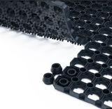 Nattes en caoutchouc de plancher d'anti herbe extérieure de glissade