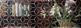 De kunst Aangemaakte de bouw Gerolde Decoratieve Kunst van het Venster van de Deur van de Kruik van het Glas van de Verf van het Patroon van de Bel