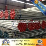 Tubo de aço galvanizado com tampa e acoplamento
