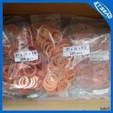 El cobre junta de cobre Lavadora anillo de sellado de cobre