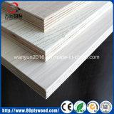 4X8 Kleber-Pappel-Kern-Mahagonibaum-Furnierholz der Fuss-heißes verkaufenE1 E2