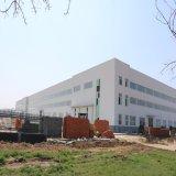 La estructura de acero del metal del diseño de la construcción del bajo costo/prefabricó el almacén
