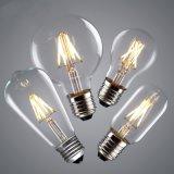 Vendimia Edison del bulbo G45 G80 G95 St64 A60 del filamento del LED