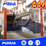 Het automatische Systeem die van de Terugwinning de Zaal van /Blasting van de Zaal van de Kamer zandstralen