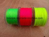 Cuerda de la pesca de nilón Fluo Color Neón Línea Multilfilament