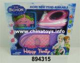 Aparelhos electrodomésticos do brinquedo plástico do B/O ajustados (424506)
