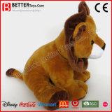 Leão macio feito sob encomenda do animal enchido dos brinquedos do luxuoso para miúdos