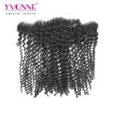 Ивонна популярных Kinky вьющихся волос Соединенных Штатов Бразилии кружева фронтальной 13,5*4