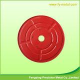 Componente de estampagem de perfuração para a parte metálica do dispositivo de proteção contra incêndio