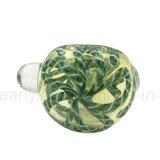 جديدة أخضر شريط أنبوب حلقيّ مصغّرة زجاجيّة ملعقة أنابيب لأنّ يدخّن ([إس-هب-381])