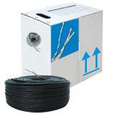 Cable de LAN de interior superventas del cable de la red del cable al aire libre CAT6 del ftp de China UTP 23AWG 24AWG