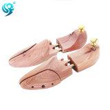 OEM Mamufacturerのカスタムヒマラヤスギの木製の長い生命靴の木