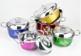 Articolo da cucina di nylon della maniglia dell'acciaio inossidabile/cucina di nylon che cucina Utenils