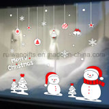 Entfernbarer Glasaufkleber, Weihnachtsfenster-Aufkleber, Glastür-Abziehbilder, Weihnachtsvinyldekoration-Aufkleber