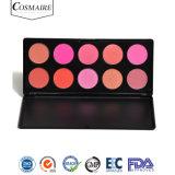 Private Label 10 Cosméticos maquillaje Blusher Color Powder Blush Palette
