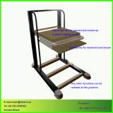Montaggio della lamiera sottile che timbra il carrello medico della strumentazione dell'ospedale delle parti