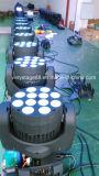 小型B目12の10Wクリー族のクォードLEDの移動ヘッドビーム段階の照明