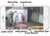 Zoom óptico 20X Full HD 1080P Câmara IP PTZ POE