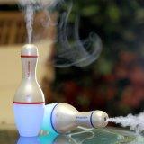 De mini Luchtbevochtiger van de Auto van het Kegelen USB met Kleurrijk Licht het Vullen Water With150ml