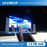 Hohe im Freien Anschlagtafel der Definition-P5.95mm der Miete-LED mit 250*250mm Mudule